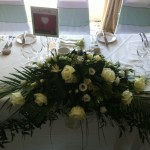 Top Table Arrangment 137